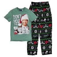 NEW National Lampoons Christmas Vacation Men Hog Nog Pajamas Free Shipping SMALL