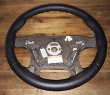 Holden Vt Vx Vu ss hsv black leather retrim steering wheel (exchange)