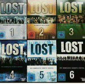 # LOST - DIE KOMPLETTE SERIE # STAFFEL 1+2+3+4+5+6 ALS DVD SET # TOP SERIE #