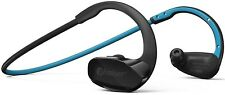 Bluetooth Headphones For Running Phaiser Wireless Earbuds Sweatproof Mic Blue