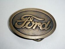 FORD Motor Company Belt Buckle-Autos/Trucks-Vintage 1977 by Indiana Metal Craft