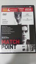 MATCH POINT DVD SCARLETT JOHANSSON WOODY ALLEN PRECINTADA NUEVA