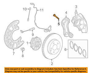 MERCEDES OEM 15-18 C300 Brake-Front-Caliper Mount Bolt 0199907901
