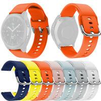 Correa Banda Pulsera de Reloj de Silicona Deporte Para Samsung Galaxy Watch 42mm