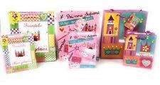Princess or Pirate Gift Bag Set of 6 Small Medium Tissue Paper Bundle New