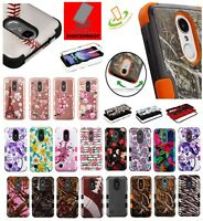 For LG K30 X410 Impact Tuff Hybrid Shockproof Rubber Protective Case Phone Cover
