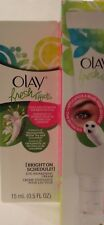 Olay Fresh Effects Bright On Schedule Eye Awakening Cream Moisturizing Roll On