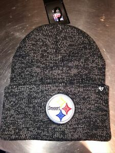 NEW '47 PITTSBURGH STEELERS  Forty Seven Brand NFL Brain Freeze Knit Hat Cap