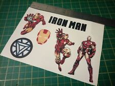Ironman Sticker Set Stark Marvel Avengers