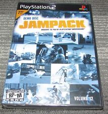 Jampack Vol. 12 Playstation 2 PS2 Brand New! Fast Shipping!