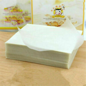 3 Packs Edible Glutinous Rice Paper Xmas Wedding Candy Food Sweets Wrapping
