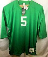 Adidas True School NCAA Paul Hornung Notre Dame 1956 HWA Jersey Men Size 4XL New