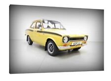 Mk1 Ford Escort RS Mexico - 30x20 Inch Canvas - Framed Picture Print Art