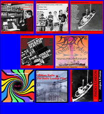 More details for pirate radio london package vols 1,2,3,4,5, big l film, jingles + final hour