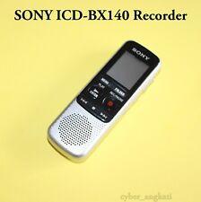 D'Origine Sony ICD-BX140 4 Go Numérique Enregistreur Vocal * Clair de Lecture * - Argent