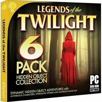 Legends of the Twilight PC Hidden Object Game DISC ONLY NO CASE NO ART UNUSED