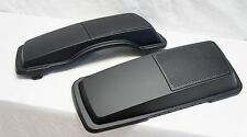 Mutazu Matte Black Denim  6 x 9 Speaker Lids for Harley Touring 1994-2013