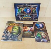 WORLD OF WARCRAFT BATTLE CHEST ORIGINAL PC GAME & GUIDE COLLECTABLE