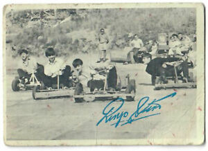 Rare 1964 TOPPS T.C.G. The Beatles Trading Bubble Gum Card (Go Karts) Vintage