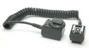 Movo Off-Camera TTL Extension Cord For Nikon Cameras.