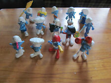 Smurfs 2011 McDonalds lot of 15