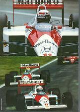 Jeu concours Marboro 1988 McLaren Senna Prost