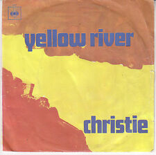DISCO VINILE 45'' - CHRISTIE - DOWN THE MISSISSIPPI LINE  - YELLOW RIVER