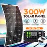 300W Flexible Monocrystalline Solar Panel Connector +10/30A Controller 18V