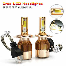 H4 9003 HB2 LED HEADLIGHT BULB HI/LO BEAM CAR CONVERSION KIT WHITE 110W 9600LM