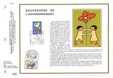 BELGIEN CEF 1974 ETB ERSTTAGSBLATT FAUNA BISON WISENT z1533