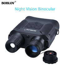 NV400 Night Vision Binocular Spotting Scope Telescope HD 720P Infrared 850nm Cam