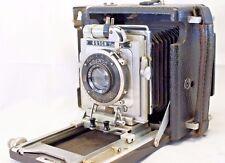 Busch Pressman C 2 1/4 x 3 1/4 Camera with Carl Zeiss Tessar 10.5cm f4.5 lens