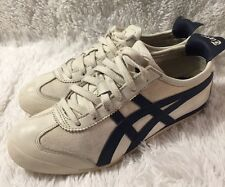 Asics Women's Onitsuka Tiger Mexico 66 White Blue 6.5