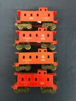 Lionel Postwar Lionel Lines 6257 Caboose Lot (4x)