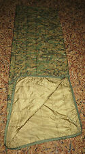 Woodland Digital MARPAT Wet Weather USMC PONCHO LINER NEW ISSUE W/ ZIPPER!!!!