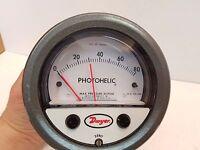 Dwyer 3000-80 CMC Photohelic Pressure Switch/Gage 25 PSIG 0-80 Free Shipping