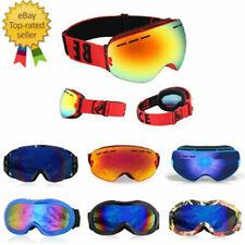Skibrille Snowboardbrille Schnee Ski Brille,Anti Fog Kinder/Herren/Damen D9