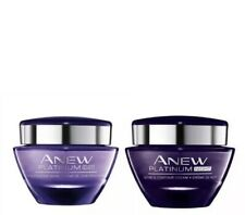 2x AVON - 1x Anew Platinum Day 50ml + 1x Night Cream 50 Ml SET BNP **FREE P &P**