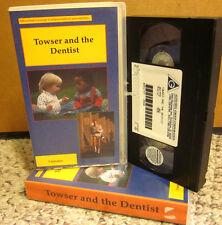 TOWSER & DENTIST Tony Ross & Roy Kinnear 1982 toothache dental care for kids VHS