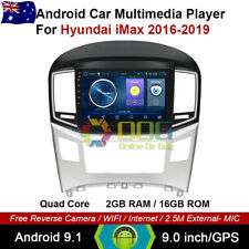 "9"" Android 9.1 Quad Core Car Non DVD GPS For Hyundai iMax 2016-2019"
