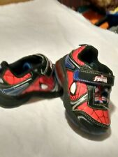 Sz 7 Boys Spiderman Casual Tennis Shoes