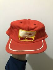 Vintage 60s 70s Wool Golf Patch Strapback Hat Cap USA Nicklaus Palmer Jones USA