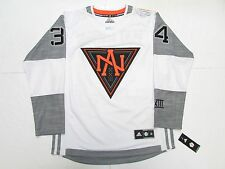 AUSTON MATTHEWS TEAM NORTH AMERICA WHITE 2016 WORLD CUP OF HOCKEY ADIDAS JERSEY