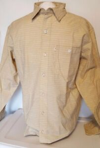 NEW Bob Timberlake Men's Long Sleeve Woven Slub Shirt for Men Size XLT