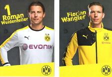 Autogrammkarte 15/16 Roman Weidenfeller Borussia Dortmund 2015/2016 + Wangle BVB