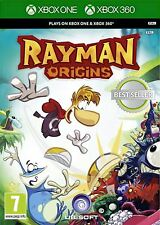 Xbox One & Xbox 360 Game Rayman Origins New