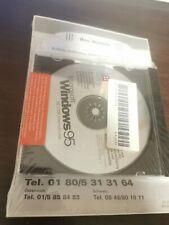 Microsoft Windows 95 Neu OVP Unbenutzt CD inklusive Handbuch - eingeschweisst
