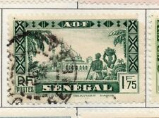 Senegal 1935-40 Early Issue Fine Used 1F.75c. 193293