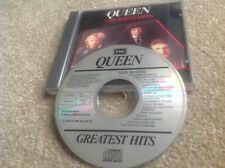 QUEEN GREATEST HITS CD 1981 (First UK Pressing) - CDP 7 460332 RARE