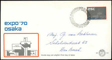 Netherlands 1970 Expo World's Fair FDC First Day Cover #C27429